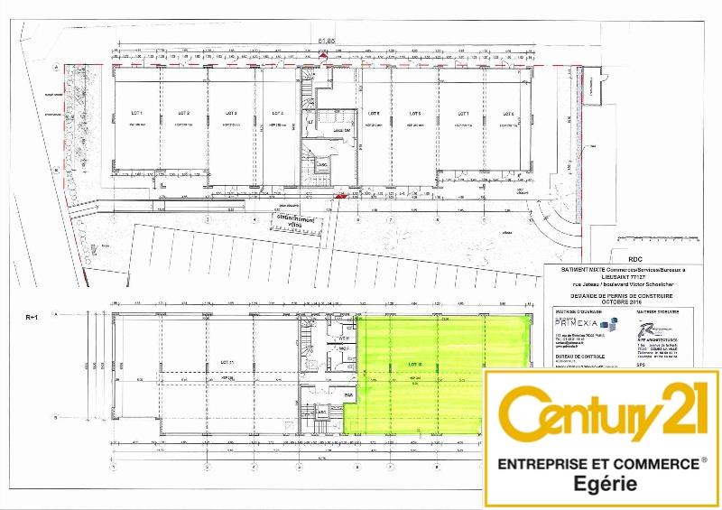 Bureaux à vendre - 330.0 m2 - 77 - Seine-et-Marne
