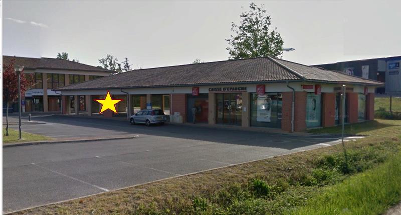 Local commercial louer de 1000m colomiers - Centre commercial colomiers ...